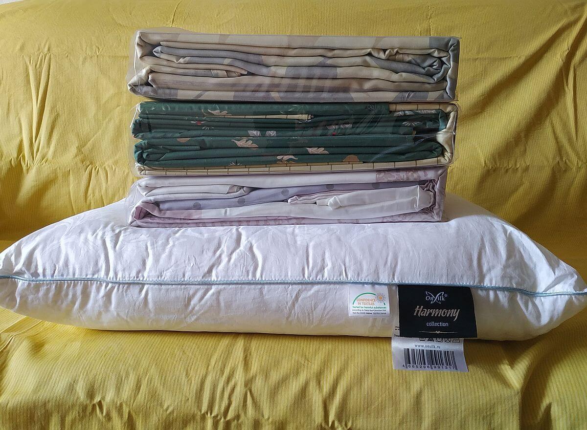 Нагрузка - 3 комплекта постельного белья