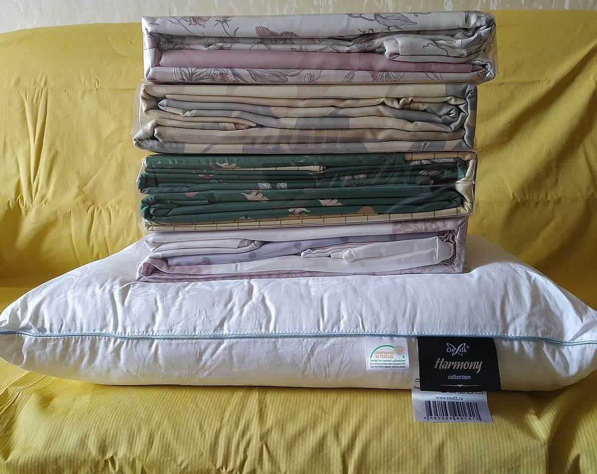 Нагрузка - 4 комплекта постельного белья