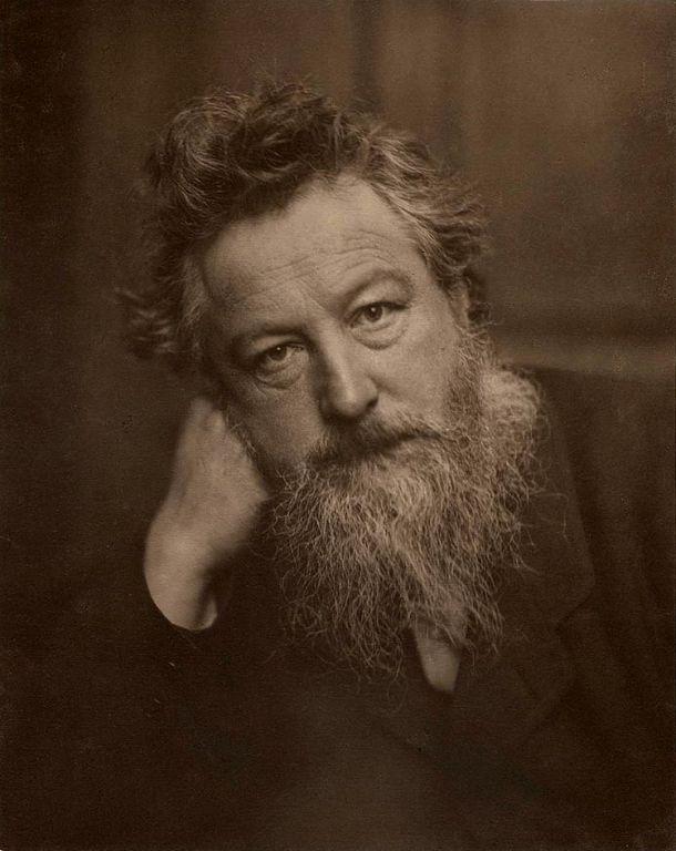 William Morris - один из самых знаменитых конструктор обоев и тканей